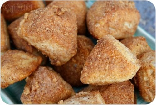 Cinnamon Crunch Biscuit Bites by All Roads Lead to the Kitchen