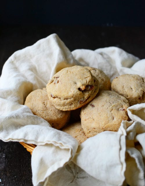 Whole Wheat Buttermilk Pecan Biscuits by The Well Floured Kitchen