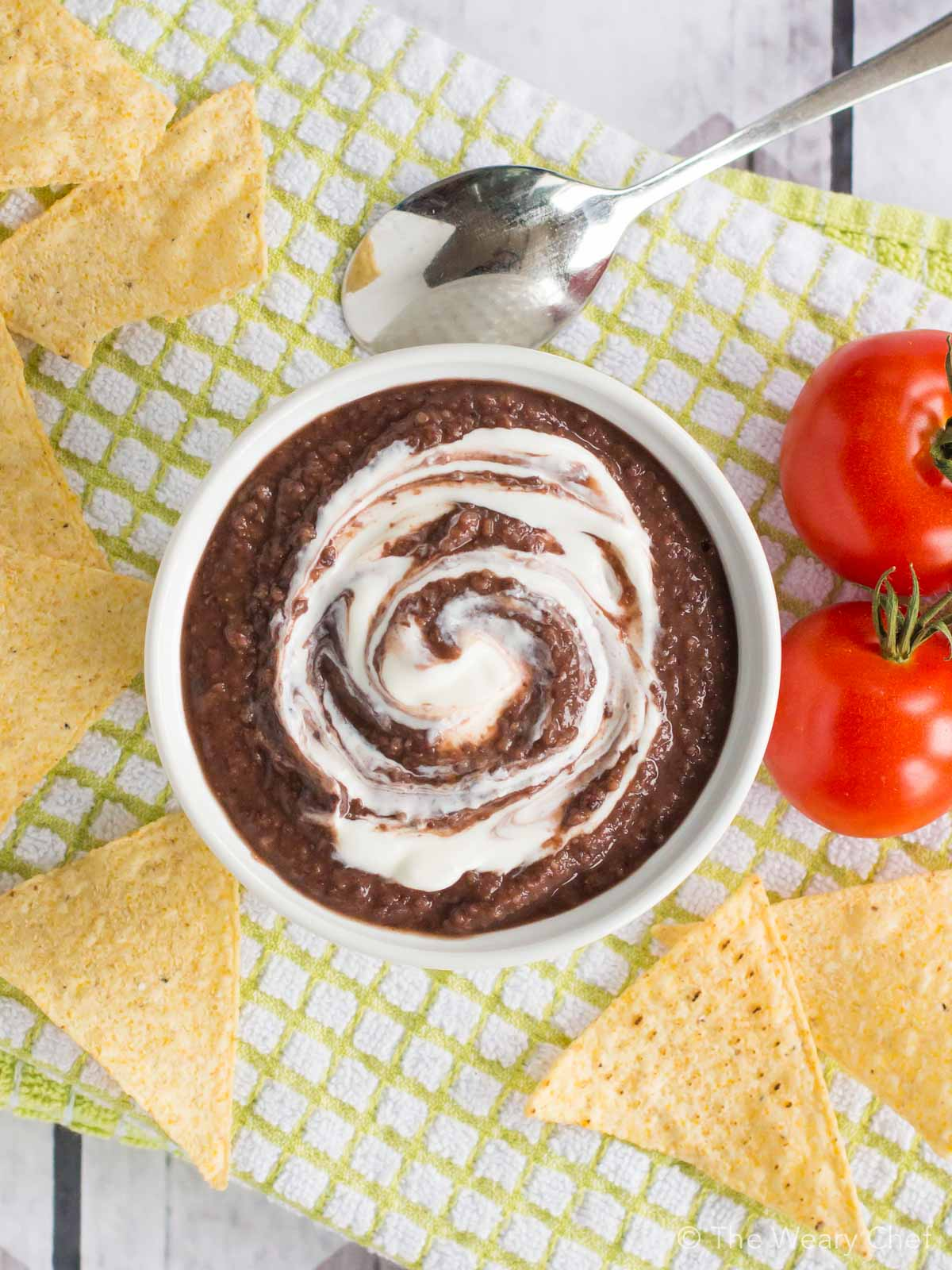One of my easiest recipes yet, you'll want to make this Blender Black Bean Soup again and again!