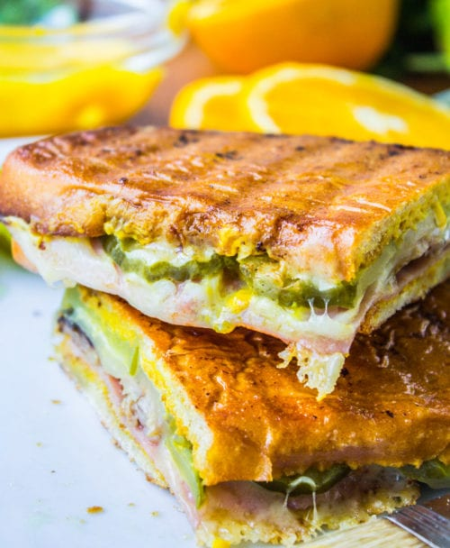 Cuban Sandwiches (Cubanos) by The Food Charlatan
