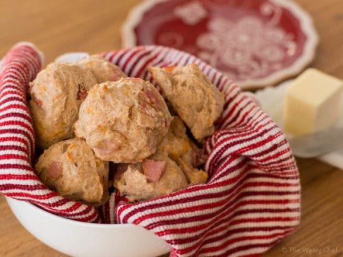 Oatmeal Cheese Biscuits by The Weary Chef