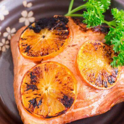 Zesty Orange Seared Salmon Recipe