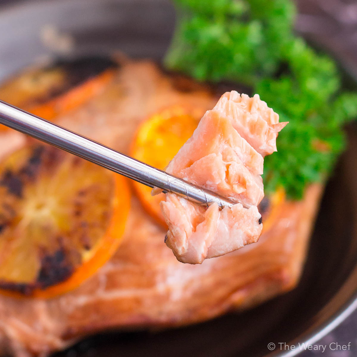 You'll love this seared orange salmon for dinner tonight!
