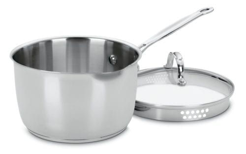 Cuisinart Stainless Pot with Lid