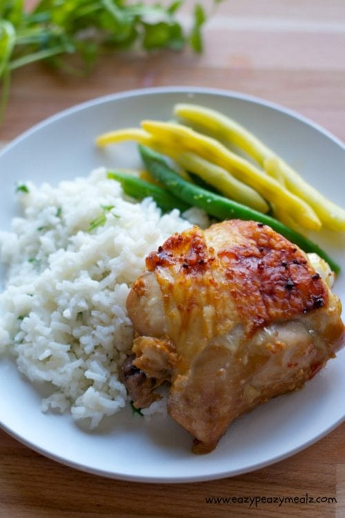 Sweet Chili Lime Chicken Thighs by Eazy Peazy Mealz