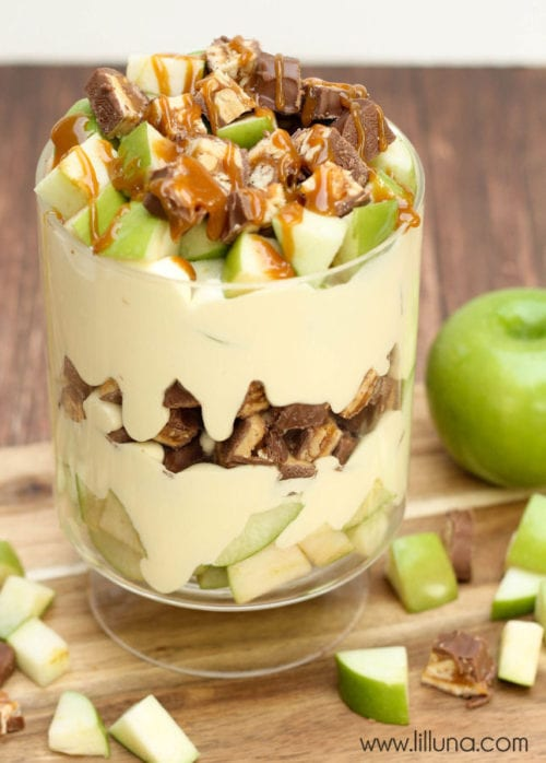 Apple Snickers Salad by Lil Luna