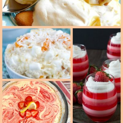 If you love Cool Whip recipes like I do, then I know you'll want to try all of these tasty creations!