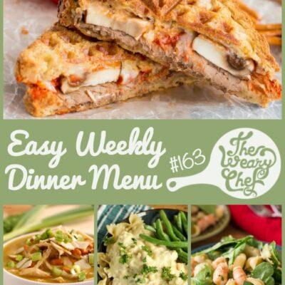 Easy Weekly Dinner Menu #163: Keeping it Real