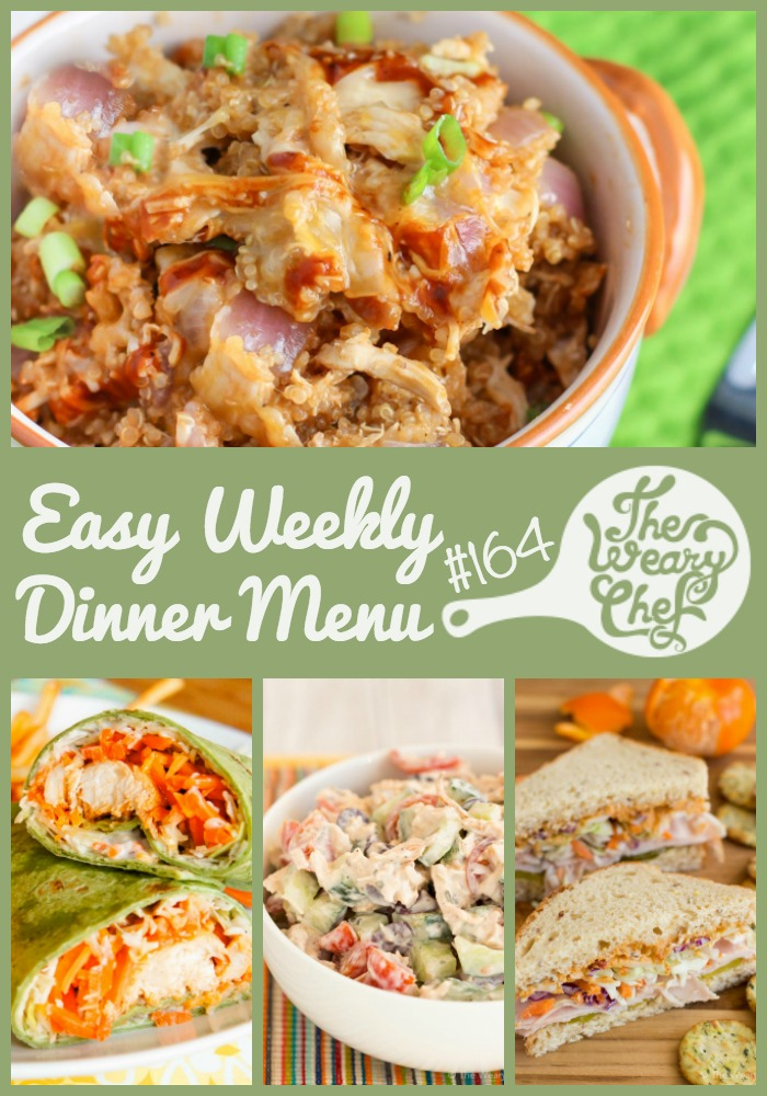 This week's menu features cool sandwiches, wraps, chicken salad, and more!