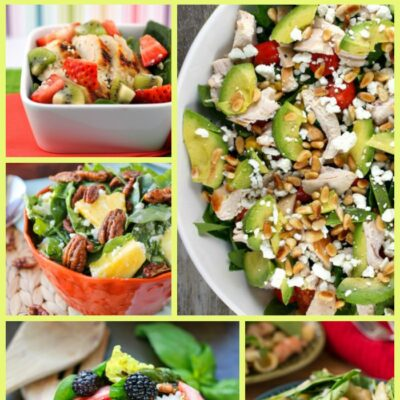 Spinach Salads For Healthy Weeknight Meals
