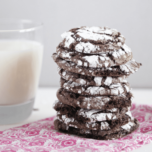 Simple Cool Whip Chocolate Cookies by Dine and Dish