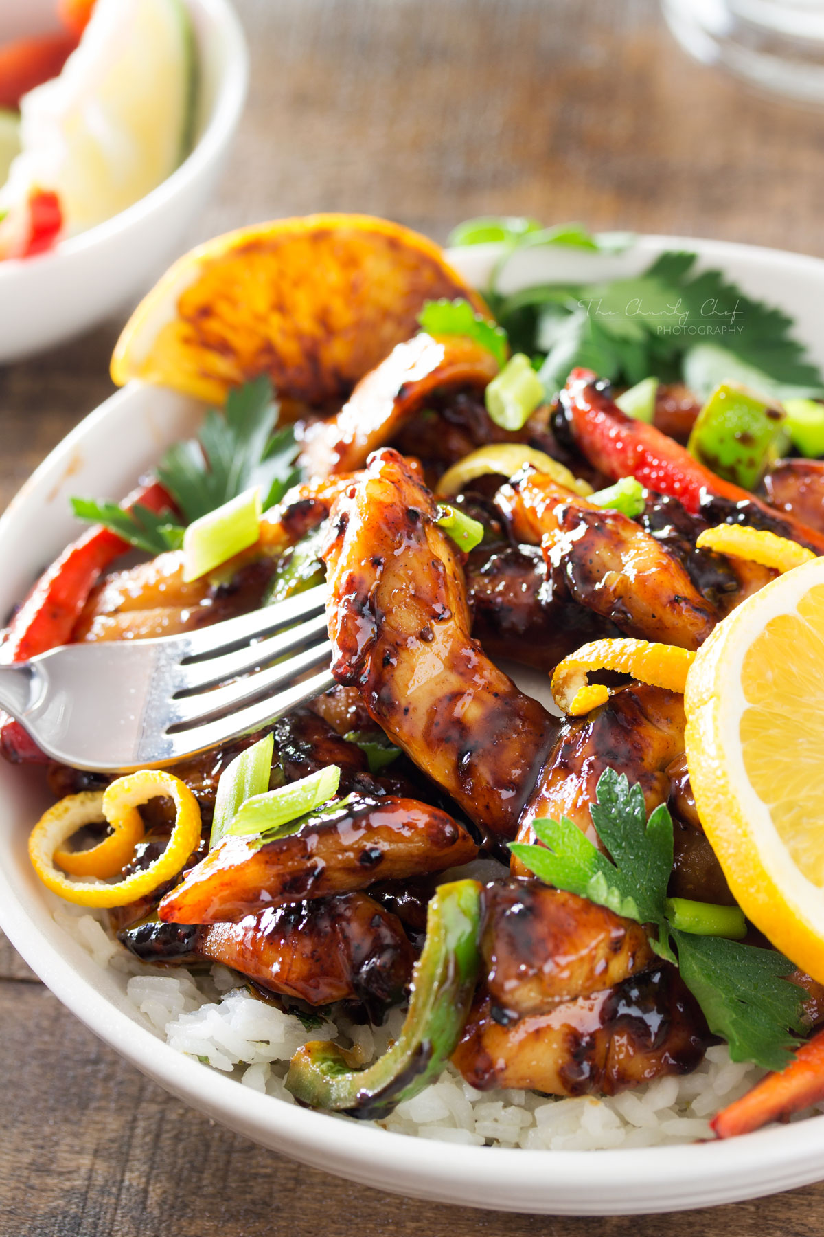 Cajun honey chicken bowls the weary chef grab a fork and get ready to dig into this luscious cajun honey chicken forumfinder Image collections