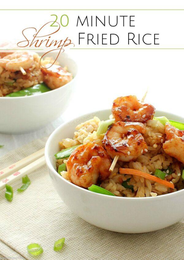 20 Minute Shrimp Stir Fry - The Chunky Chef