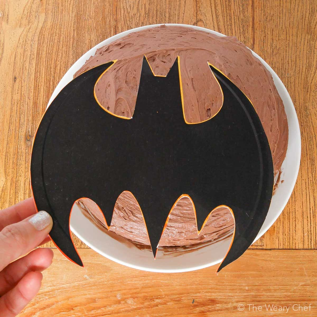 How to Make an Easy Batman Cake The Weary Chef