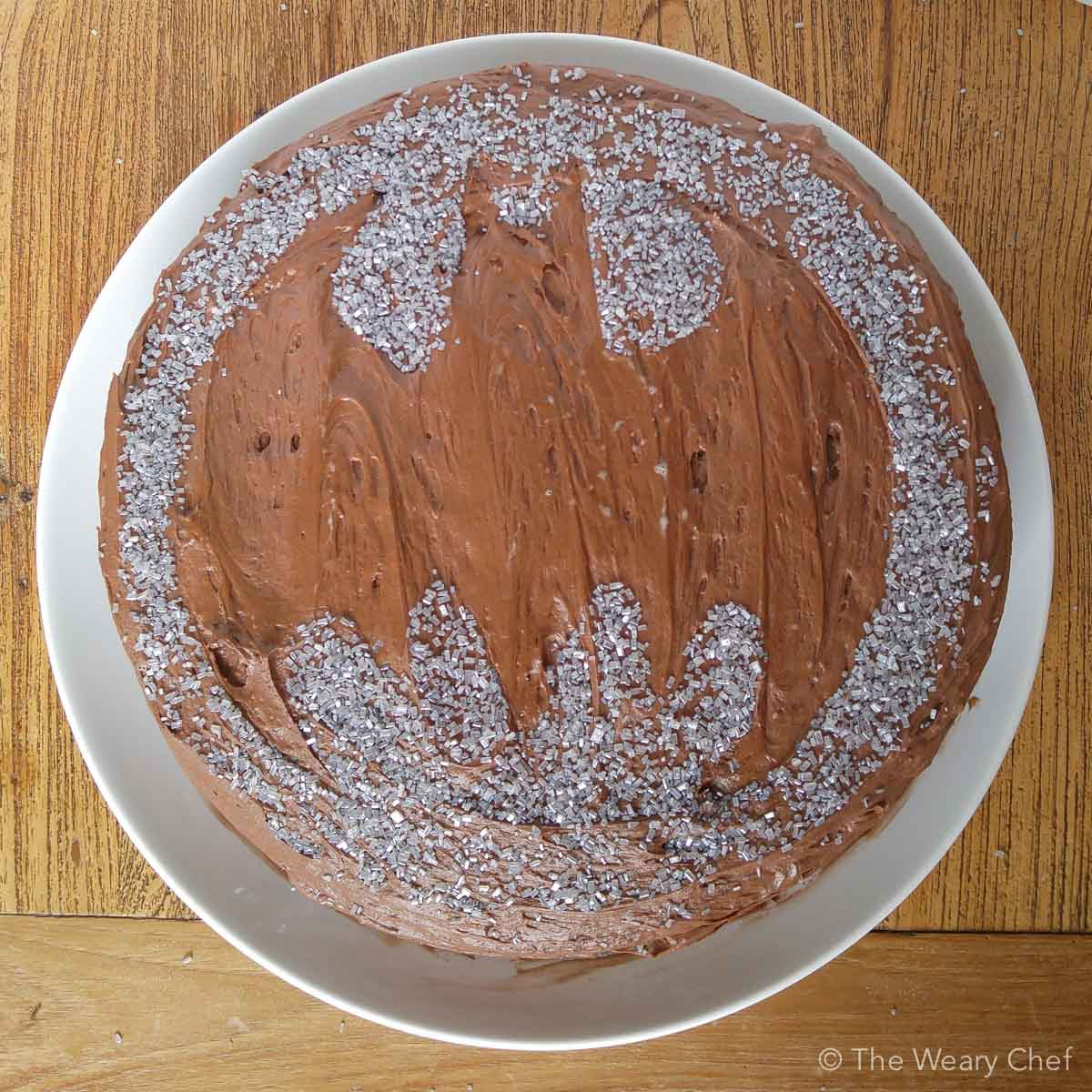 How To Make A Batman Cake The Weary Chef