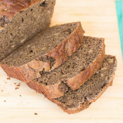 Healthy Banana Bread Recipe with Buckwheat Flour