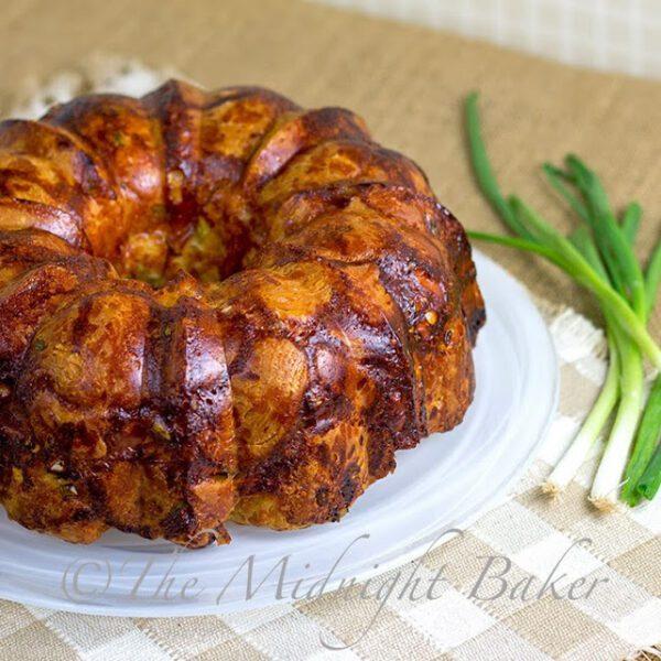 Cheesy Onion Monkey Bread by The Midnight Baker