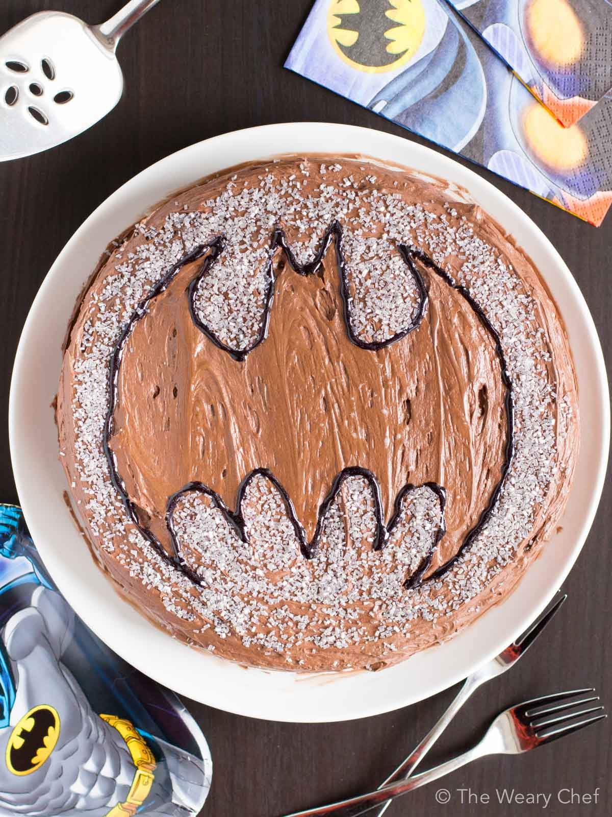 This Easy Batman Cake Is Super Simple To Make And Will Definitely Your Kids Happy