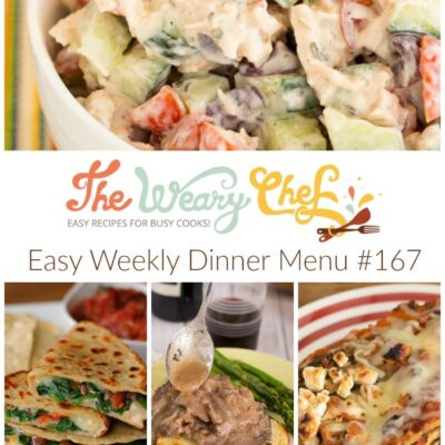 Easy Weekly Dinner Menu #167: Why buy organic?