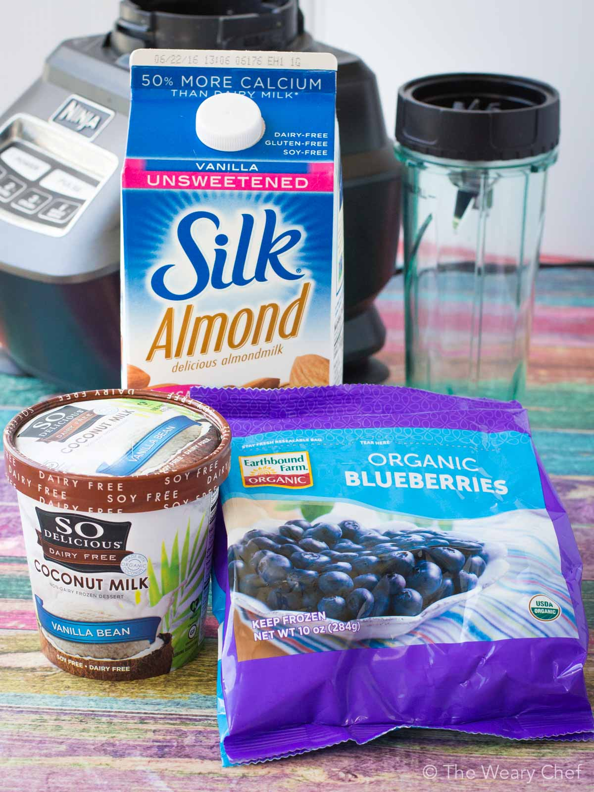 Sure, this non-dairy blueberry milkshake is good for the environment and your body, but more importantly, it tastes incredible!