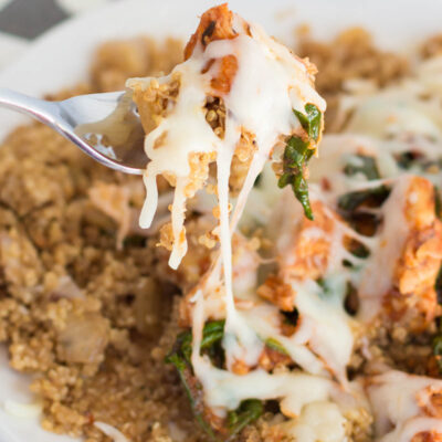 Pizza Chicken and Quinoa Recipe