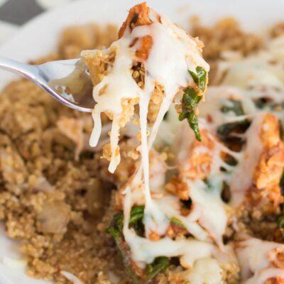 Pizza Chicken and Quinoa Recipe
