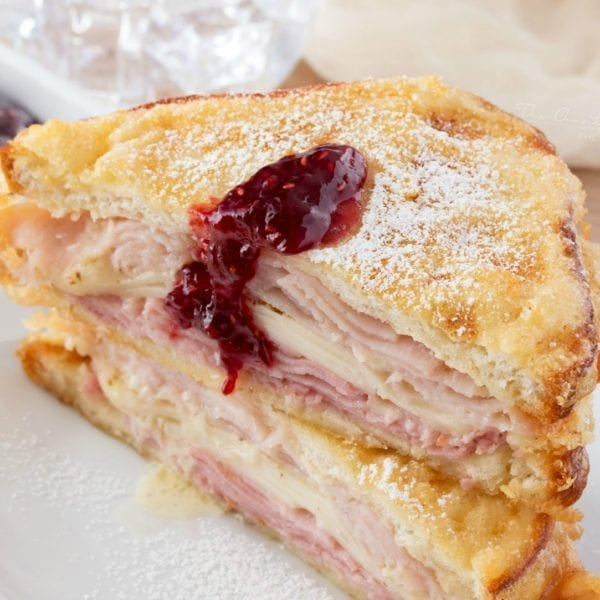 These monte cristo sandwiches are heavenly!