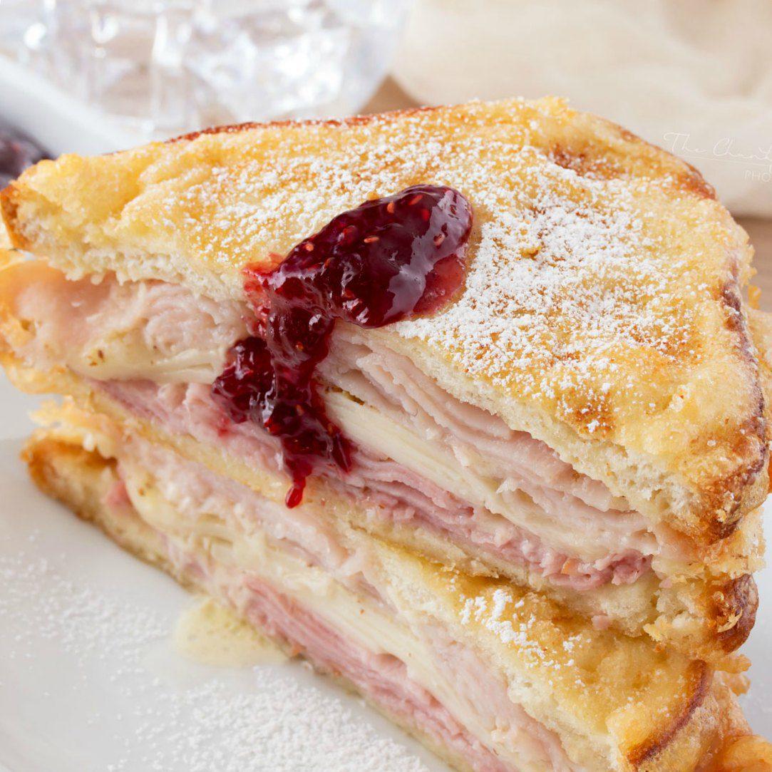 These monte cristo sandwiches are heavenly!