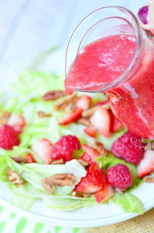 Raspberry Lime Vinaigrette by Will Cook for Smiles