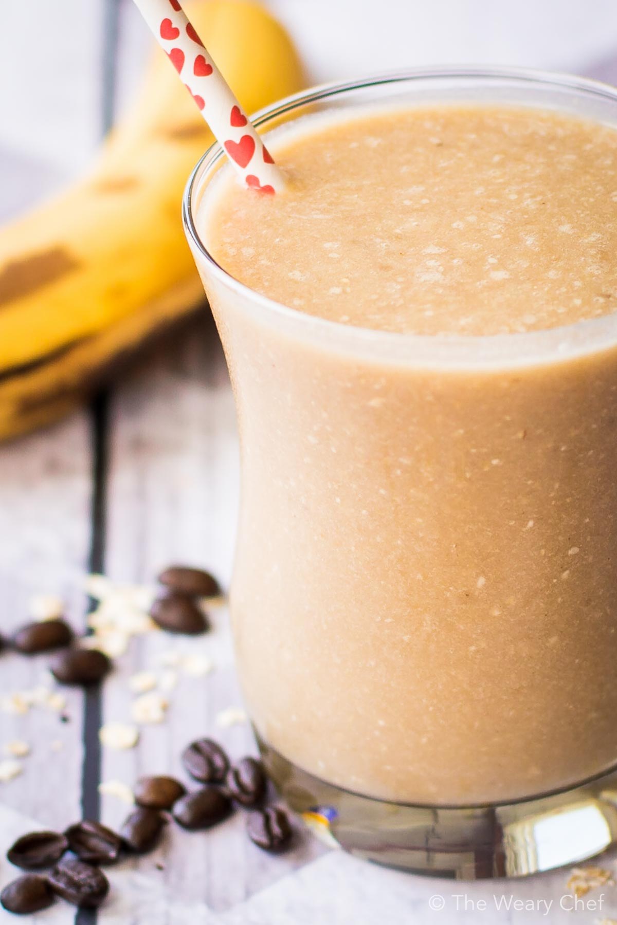 You need a tall glass of this Banana Nut Smoothie for breakfast! It has everything you need to start the day right, plus it's dairy free!