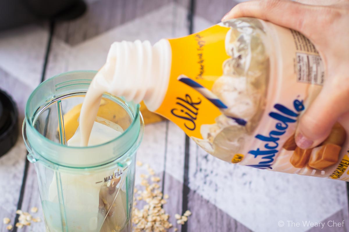 Silk Nutchello is perfect for mixing up a smoothie or drinking on its own.