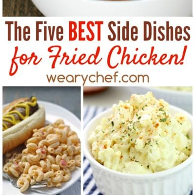 Best Side Dishes for Fried Chicken