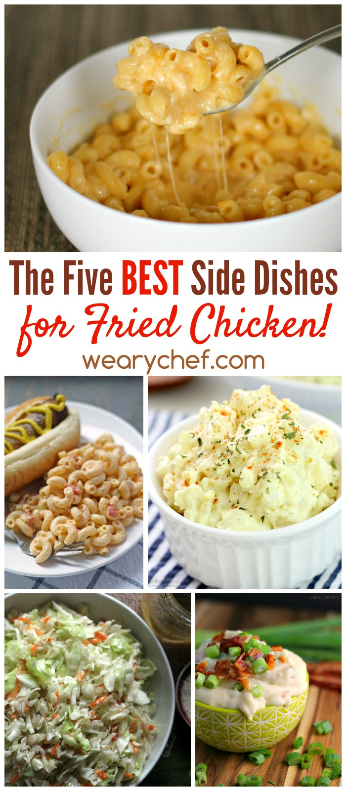 Fried chicken is great, but it's even better when paired with one of these five best side dish recipes!