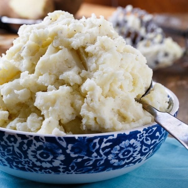Duke's Mayonnaise Mashed Potatoes by Spicy Southern Kitchen