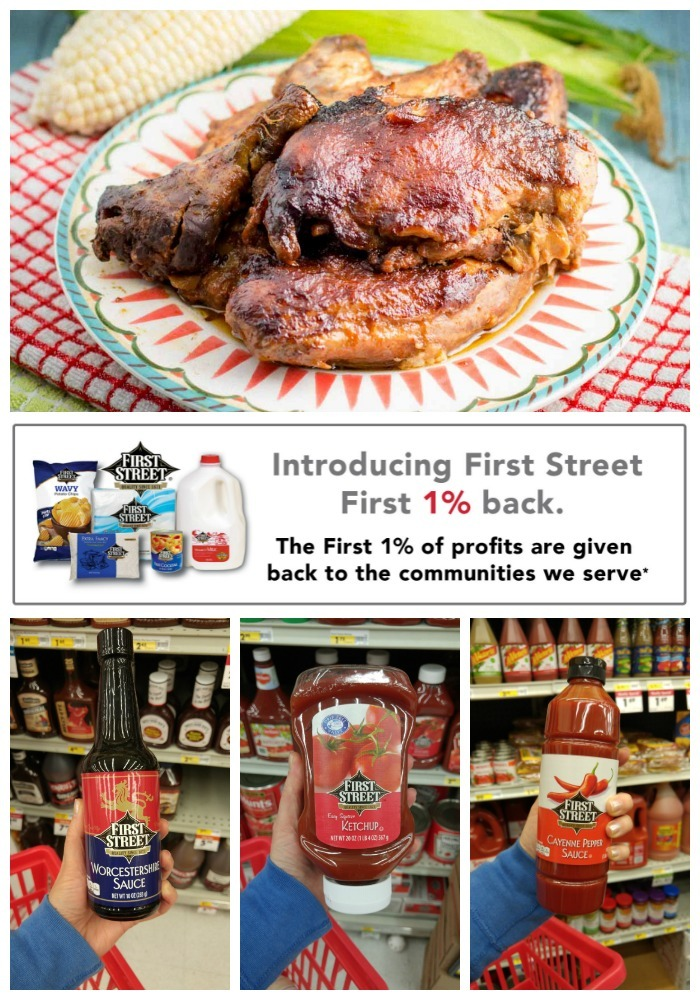 Shop at Smart & Final for this crockpot BBQ Chicken, and support their charitable foundation with your purchase!