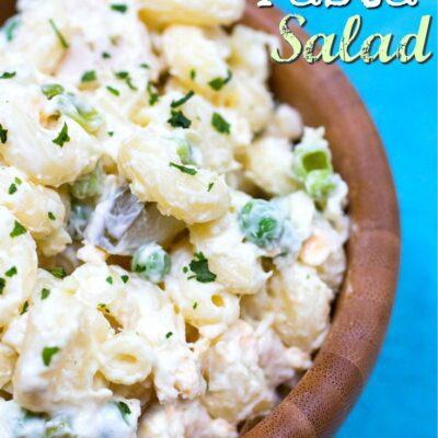 Quick Tuna Macaroni Salad