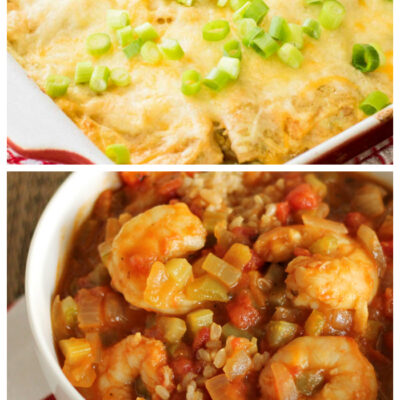 Weekly Meal Plan #174: Cheesy Goodness and More