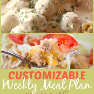 Weekly Wrap Up and Meal Plan #171: Meatballs, Flatbread, and More!