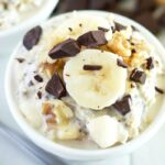 Chunky Monkey Overnight Oats