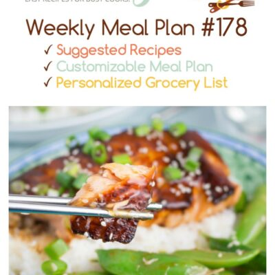 Cooking for Two: Easy Weekly Dinner Menu #178
