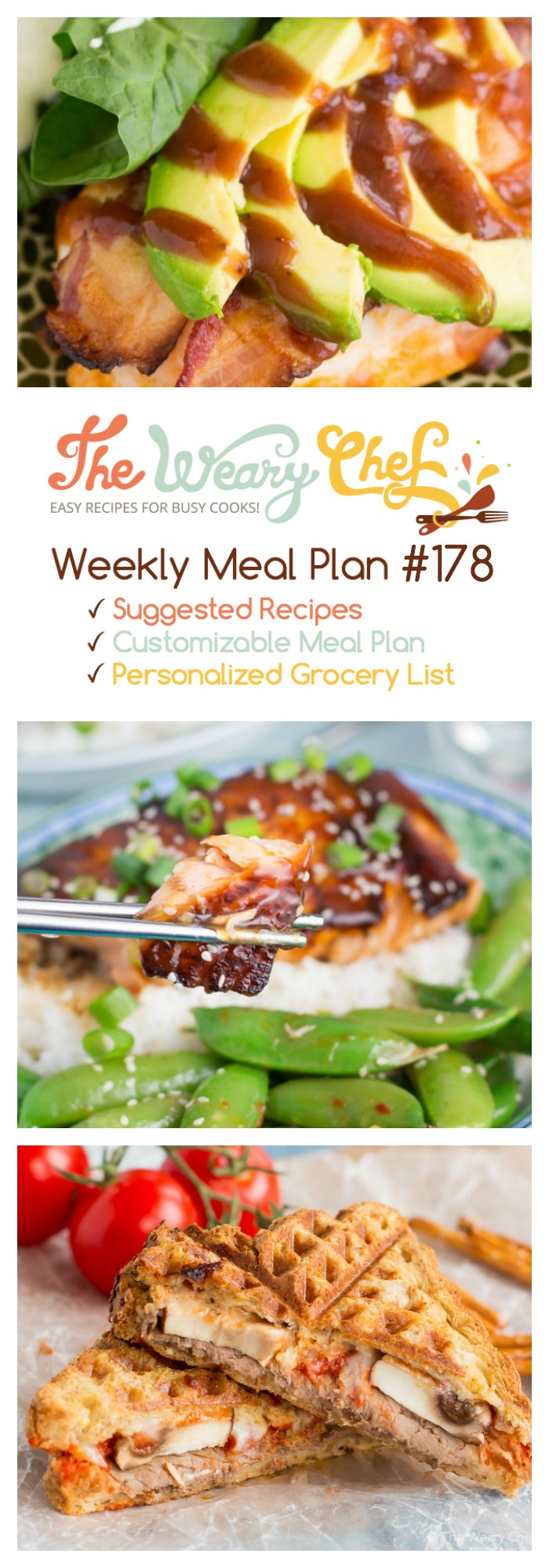 Cooking for two easy weekly dinner menu 178 the weary chef for Easy to cook dinner recipes for two
