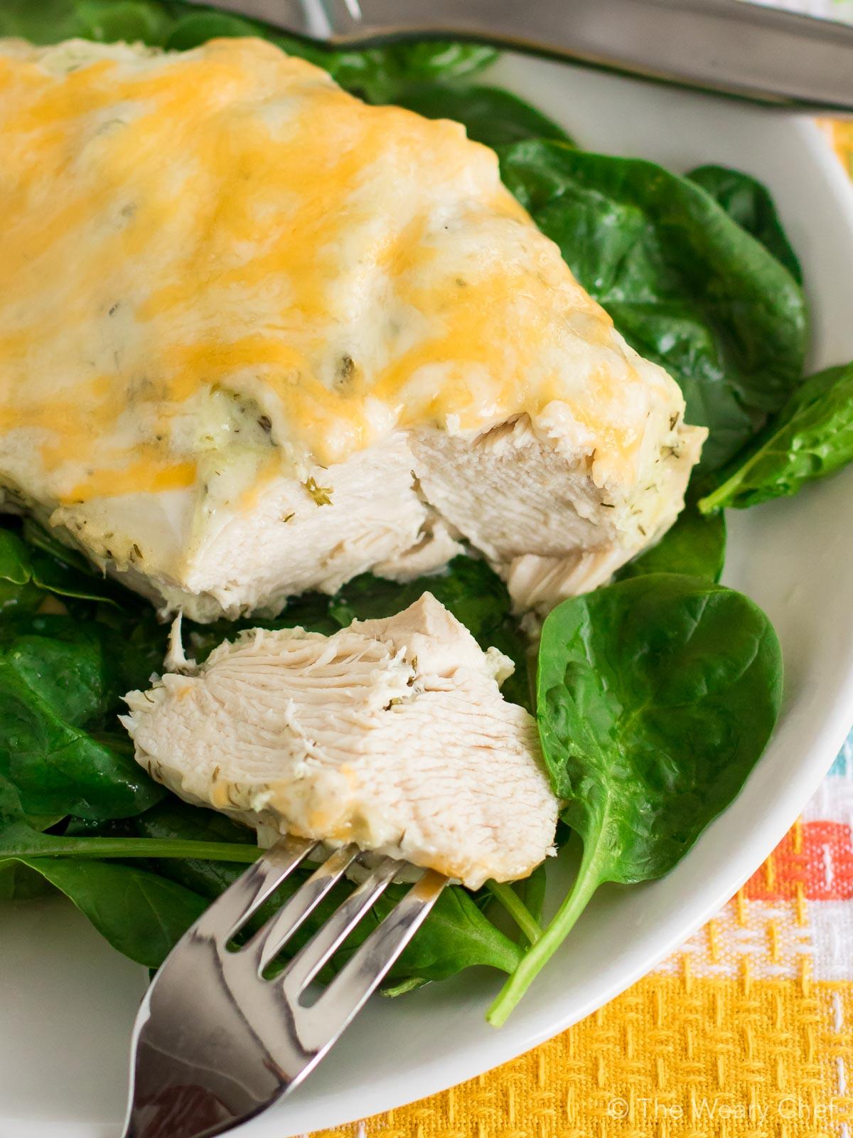 You'll love this juicy Greek Yogurt Chicken for dinner!