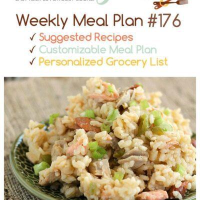 Weekly Dinner Menu #176
