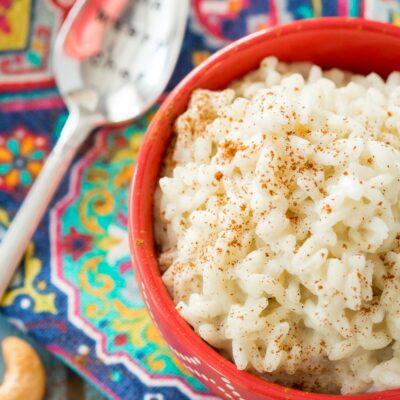 3-Ingredient Vegan Rice Pudding