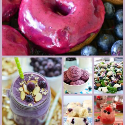 25 Blueberry Recipes You Will Love!