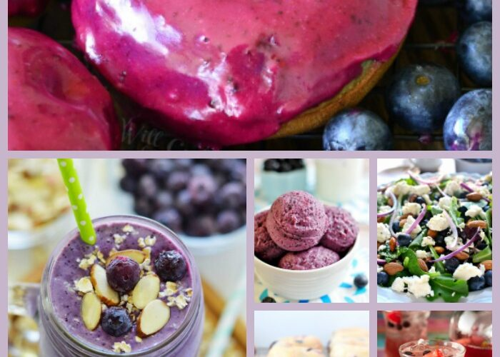Make your tastebuds happy with these 25 blueberry recipes. They are all irresistible!