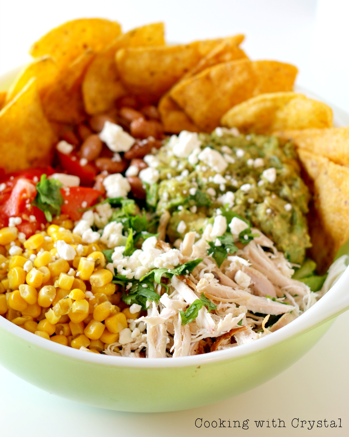 Chicken Taco Salad - by Cooking with Crystal for The Weary Chef
