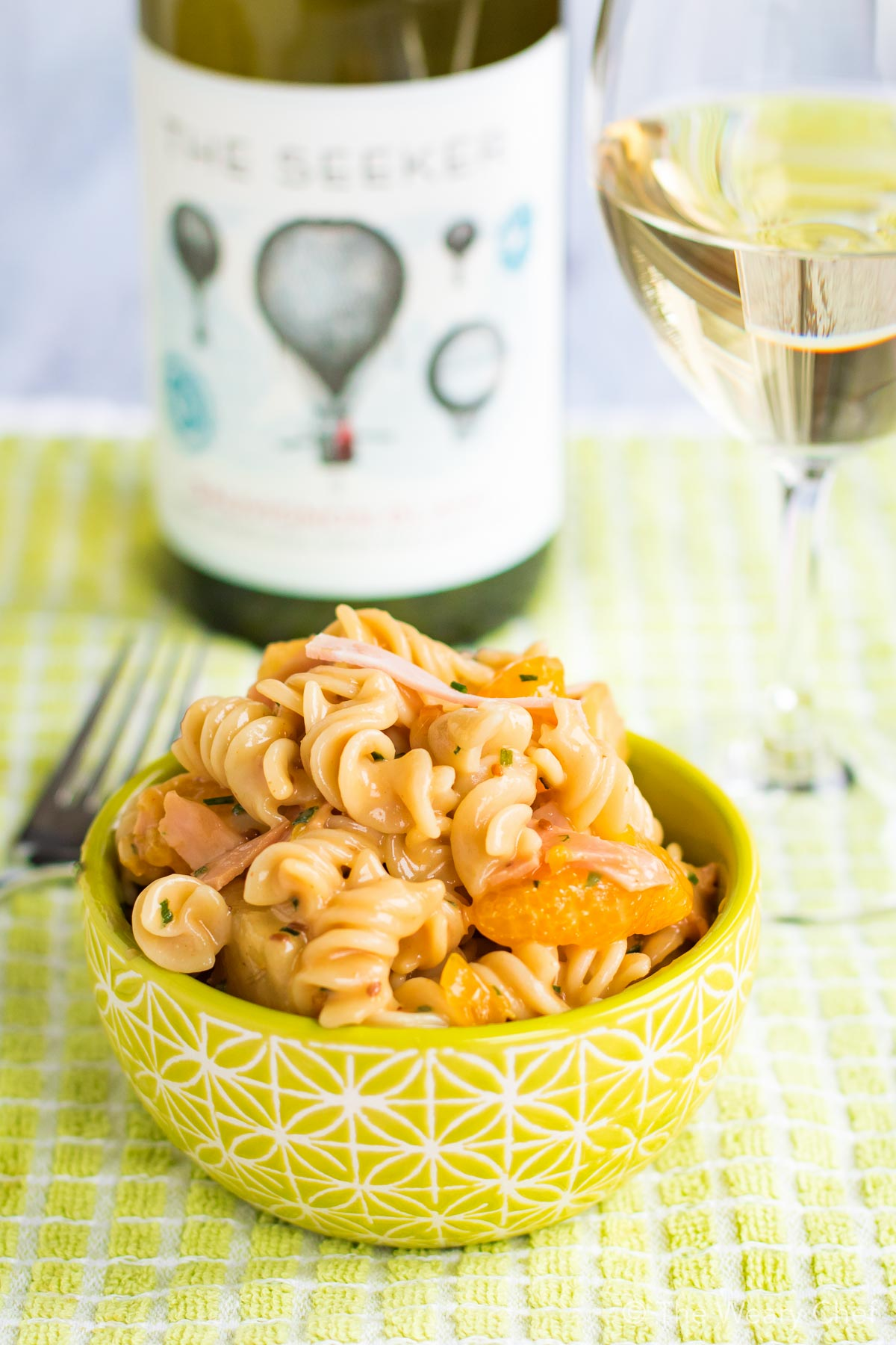 The Seeker Wines are the perfect partner for Hawaiian Pasta Salad!