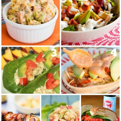 Summer Dinner Recipes: Weekly Dinner Menu #180