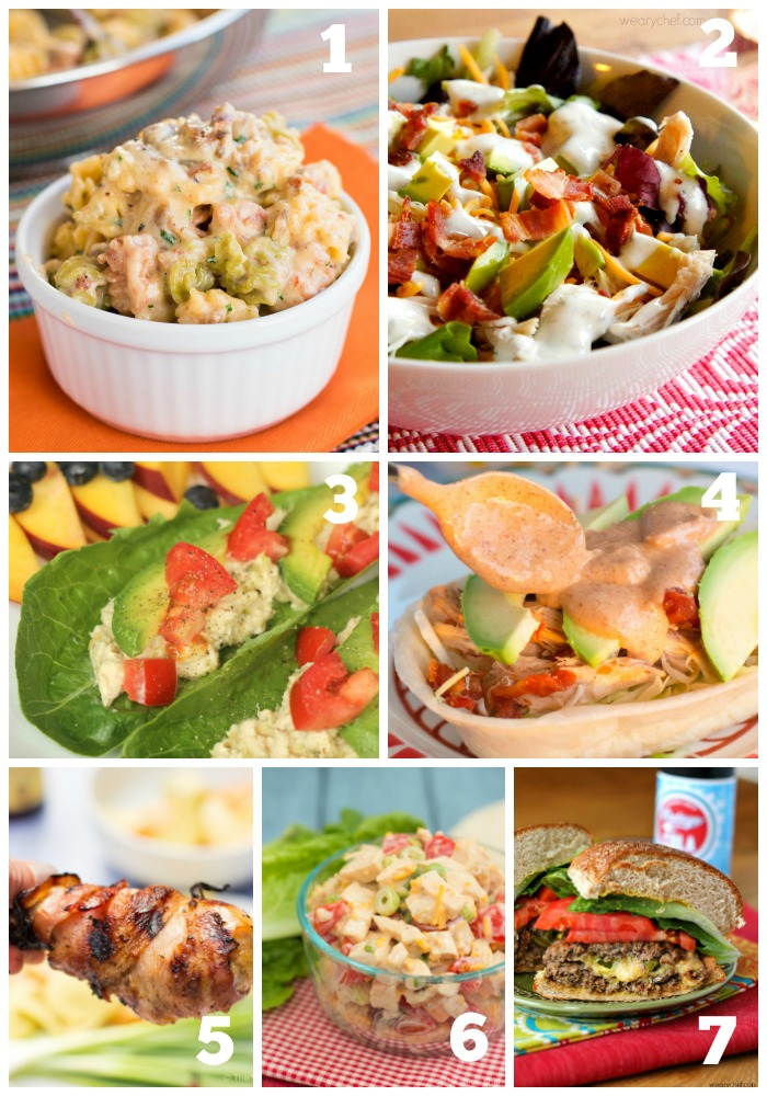 This week's menu is full of Summer dinner recipes that won't heat up your kitchen!